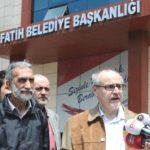 """Fatih Belediyesi Önünde """"Sulukule"""" Tartışması"""