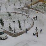kayaşehir kar manzarası