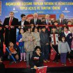 Başakşehir'de Yapılan Toplu Açılış Töreni