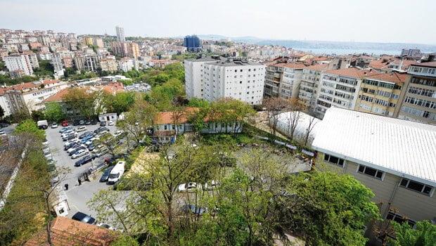Marmara Üniversitesi'nin arazisini