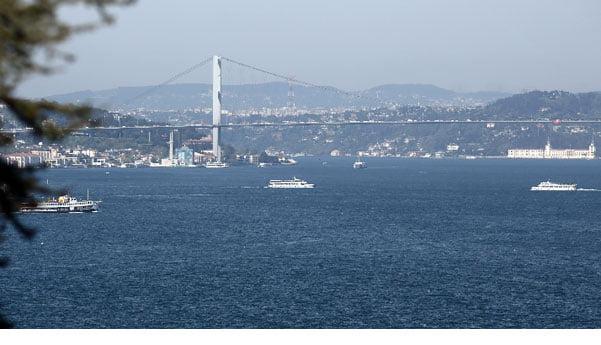 İstanbul Boğazından