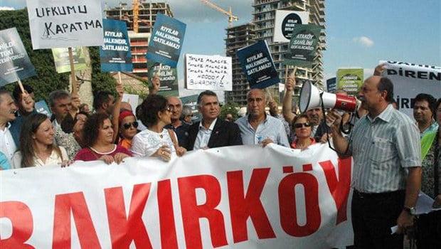 TOKİ protestosu