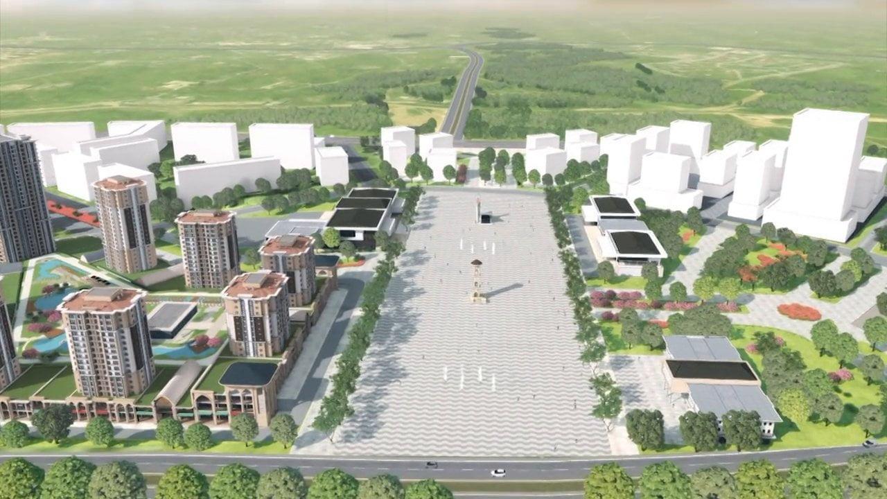 Başakşehir'in yeni kent
