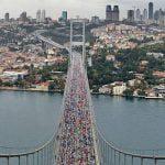 36. İstanbul Maraton Koşusu Yapıldı