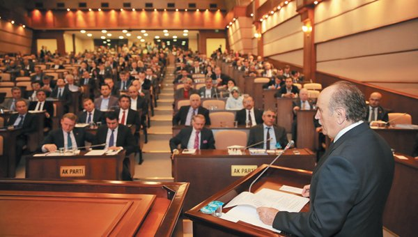 kadir topbaş bütçe komisyonu