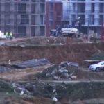 Kayaşehir İnşaatın Çalışmasında Toprak Kayması