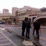 Kayaşehir' AVM önünde bomba bulundu