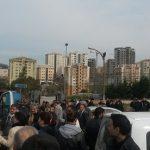 Başakşehir Göçmen Konutları'nda Protesto