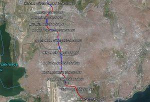 İkitelli Ataköy metrosu