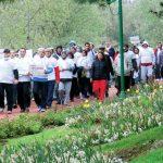 yürüyüşlü protesto