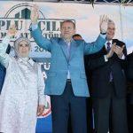 Erdoğan Üsküdar'da toplu açılış törenine katıldı