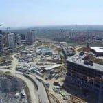Kayaşehir 540/4 Parsel ve Şehir Hastanesi İnşaatı -Havadan-