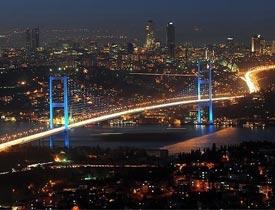 mega şehri İstanbul