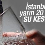 su kesintisi istanbul