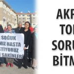 Akpınar TOKİ'de sorunlar devam ediyor!