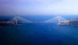üçüncü köprü birleşti
