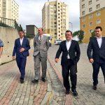 Emlak Yönetim G.Md.'ü Hasan Durhat Kayaşehir'de