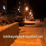 Kayaşehir'de Kar yağışı Eğlencesi Dönüştü