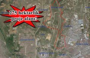 TOKİ Başakşehir Kuzey Ayazma imar planı