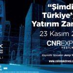 CNR Emlak İstanbul Zirvesi 23 Kasım'da