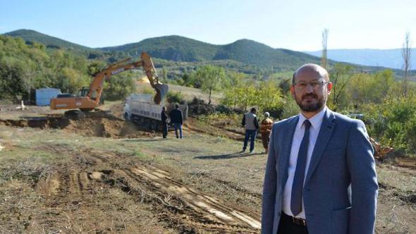 TOKAT Niksar'da yeni TOKİ konut inşaatı başladı
