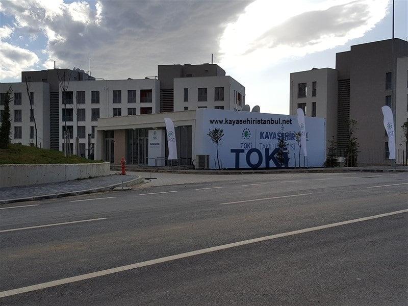 Toki Kayaşehir 605 Konut Tanıtım Ofisi Açıldı