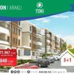 TOKİ Trabzon Araklı Konutları