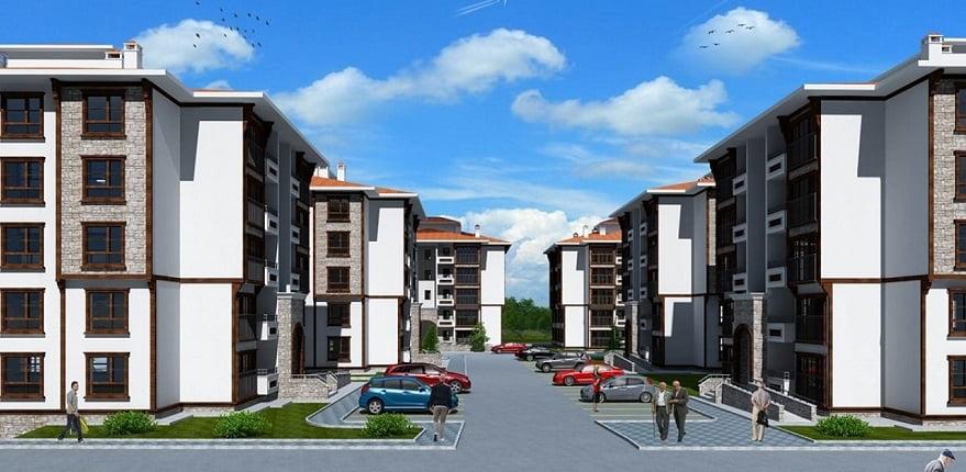 TOKİ Tuzla'ya 508